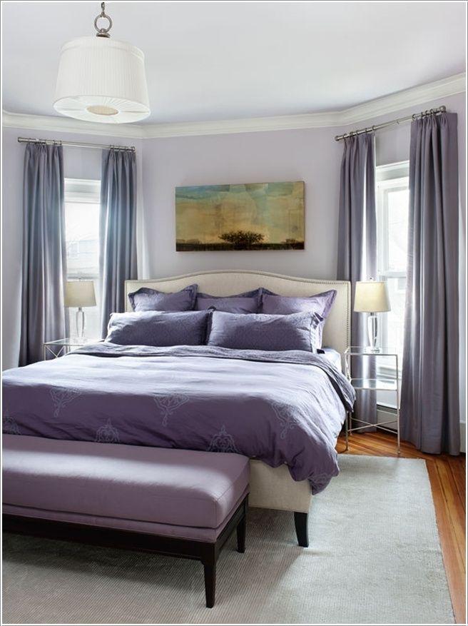 Purple Bedroom Bench: Mandarina Studio Interior Design How About Dark Lavender