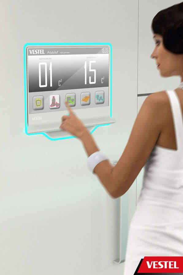 Hi-Tech Communicating Kitchens. Vestel Assist Streamlines All Activities that Revolve Around Food