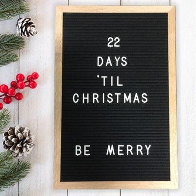 Christmas Felt Sign Board Plastic Letters For Sign Board For Felt Letters Board
