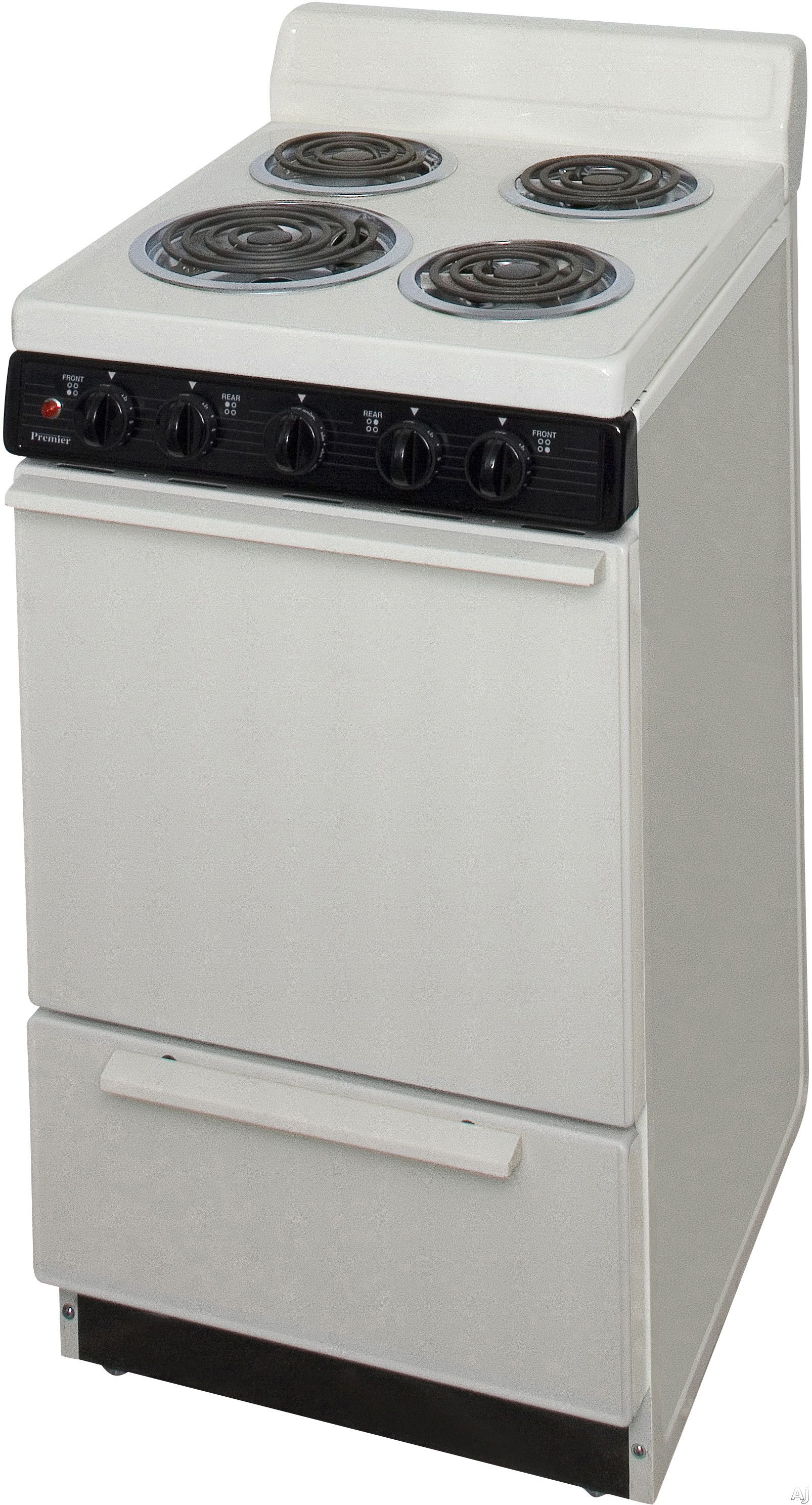 Premier Eak100t Freestanding Electric Ranges Storage Drawers Oven Cleaning
