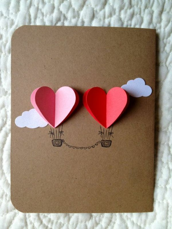 originelle Karte zum Valentinstag | Valentinstag | Pinterest | Zum ...