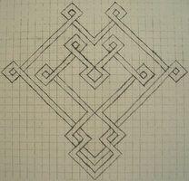Celtic Graph Paper Heart by ~tattoofuzzy on deviantART | Crafty ...