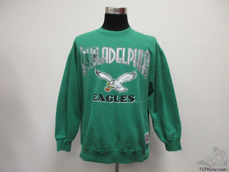 Vtg 80s 90s Nutmeg Philadelphia Eagles Crewneck Sweatshirt Sz Xl Extra Large Vintage Sweatshirts Crew Neck Sweatshirt Trending Outfits [ 1126 x 1500 Pixel ]