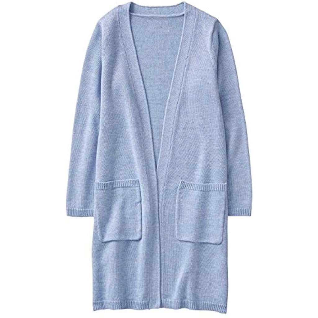 Online-Einzelhändler 8e005 33eb2 Girls Little Sleeve Long Cardigan #cardigan #cardigandamen ...