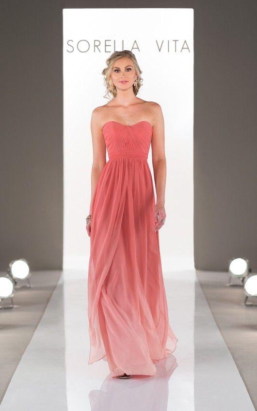 Style 8472OM (Vestido de Madrina). Diseñador: Sorella Vita ...
