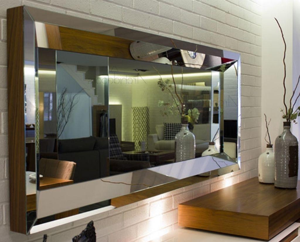 Moderne Wohnzimmer Spiegel And Wandgestaltung Frame Modern