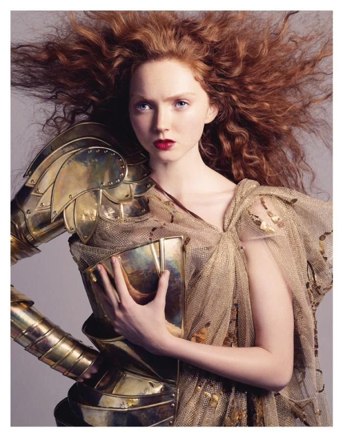 Lily Cole by Andreas Sjödin  10d92b0213908