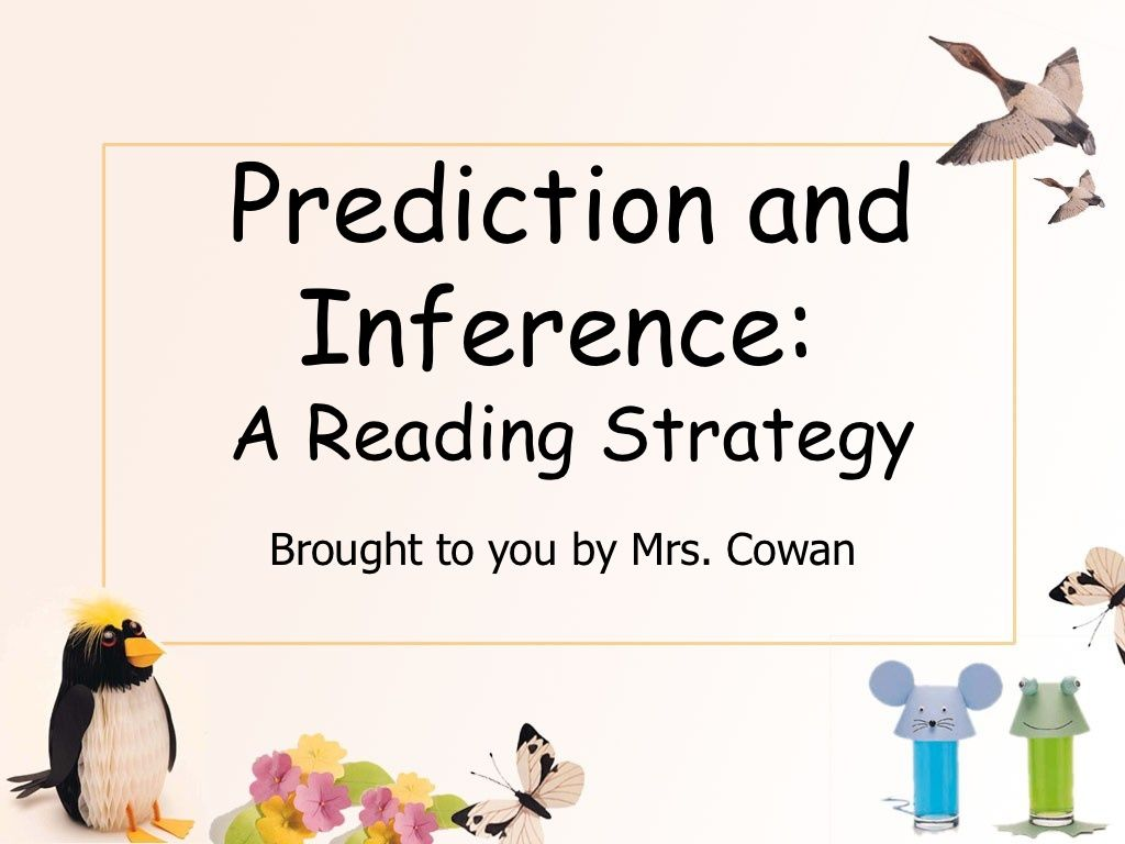 Prediction And Inference Presentation By Christine