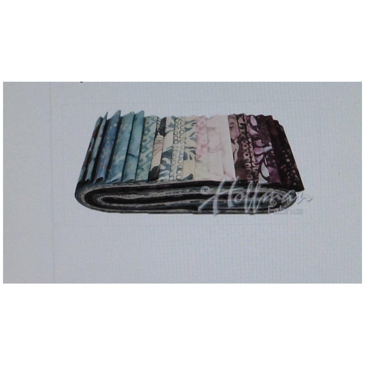 Batik bali poppyrose quartz by hoffman xinch cotton fabric
