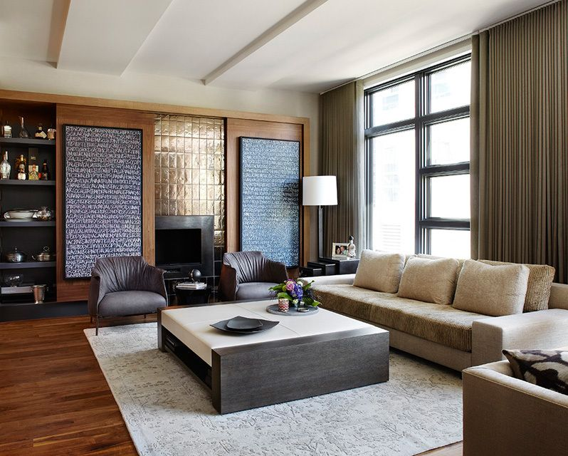 Chairish Chic Living Room Design Urban Home Decor Contemporary Living Room