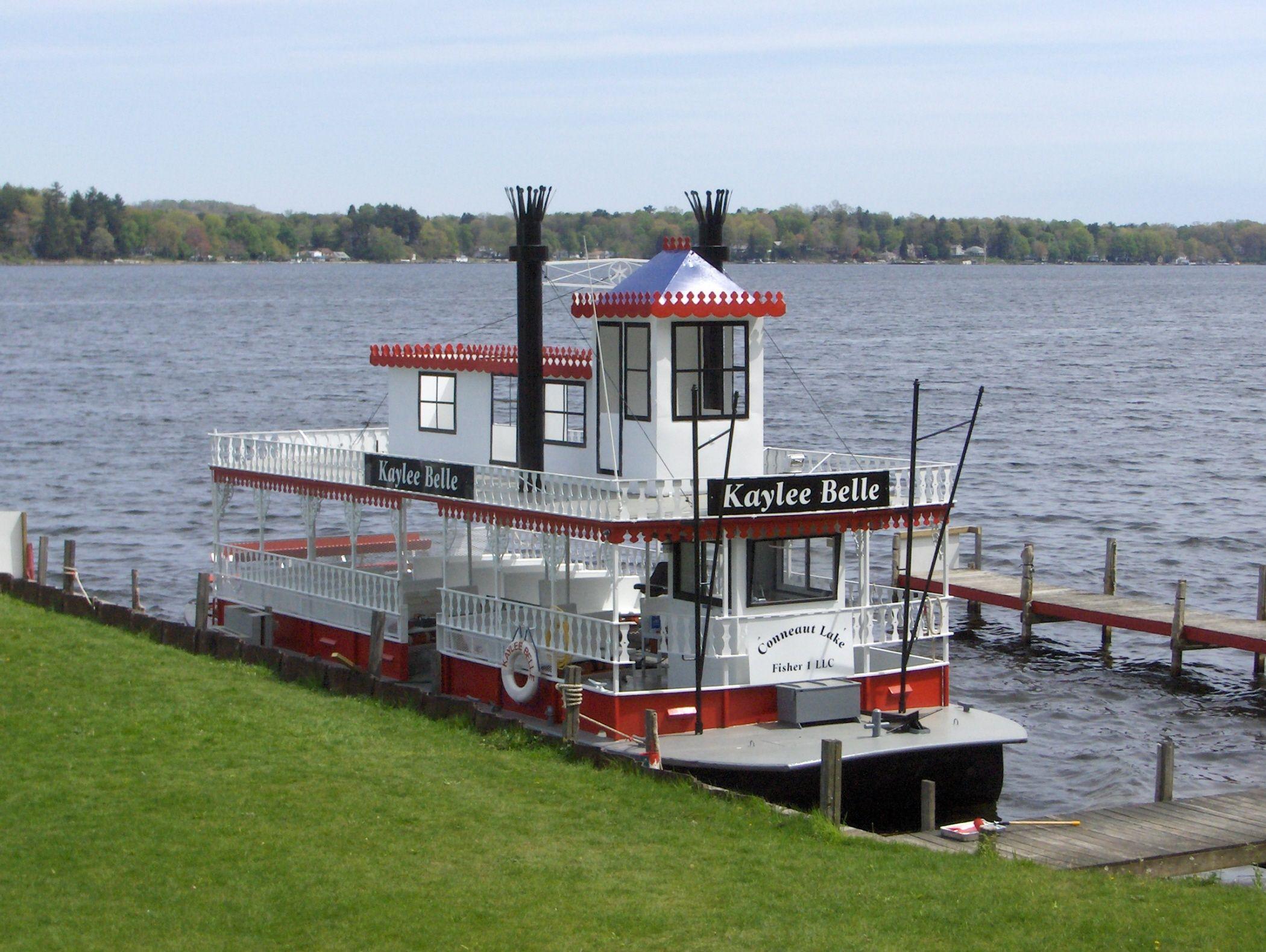 Kaylee Belle Paddleboat Conneaut Lake Park