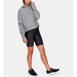 Under Armour Damen Ua Rival Hoodie aus French Terry Grau Xs Under Armour