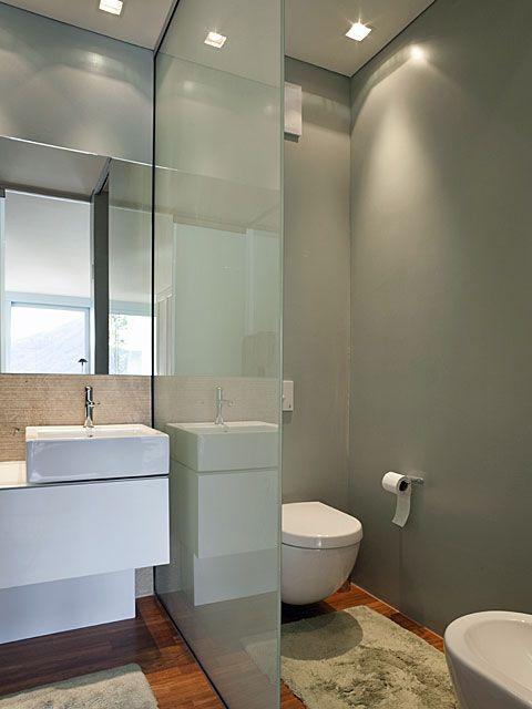 Trennwand im Badezimmer   Handwerker   Badezimmer, Badezimmer ...