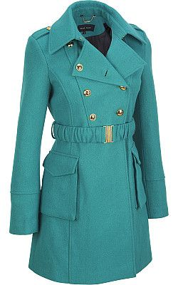 Black rivet womens military peplum jacket