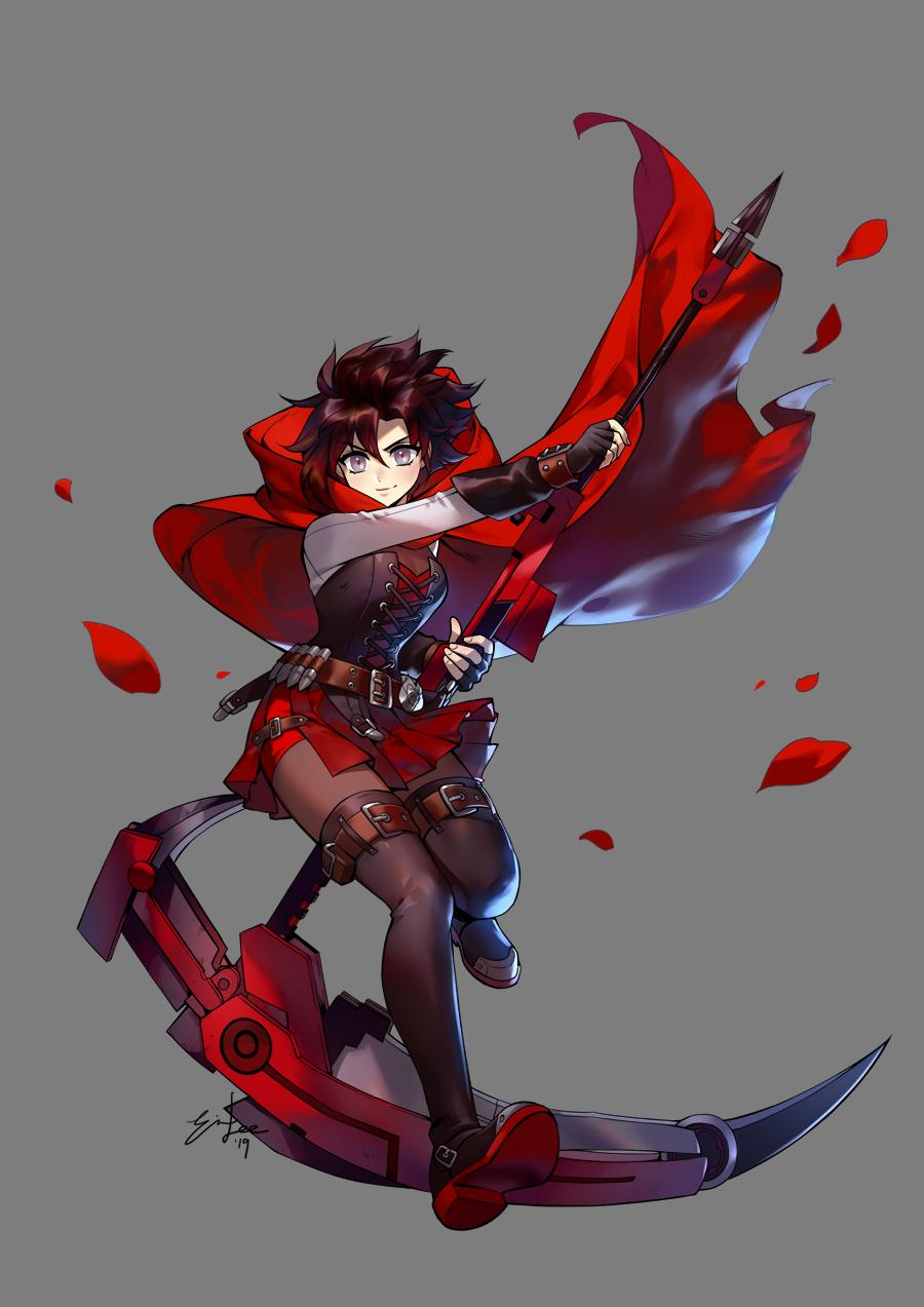 Ruby Volume 7 Portrait by einlee on DeviantArt Rwby anime