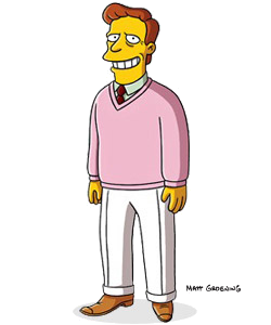 The Simpsons - Troy McClure, B-movie actor who pitches products on info commercials and ex-husband to Selma Bouvier