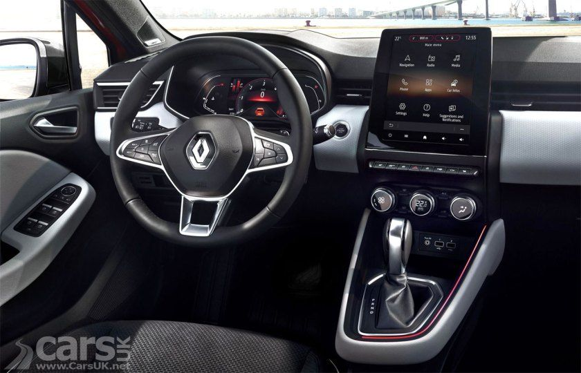 New Renault Clio Interior Revealed Ahead Of Debut And It Goes