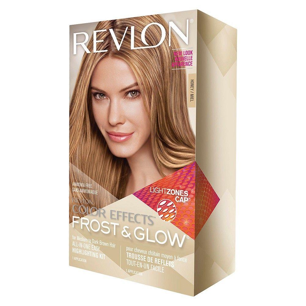 Revlon Frost Glow Honey Highlights For Medium To Dark Brown Hair