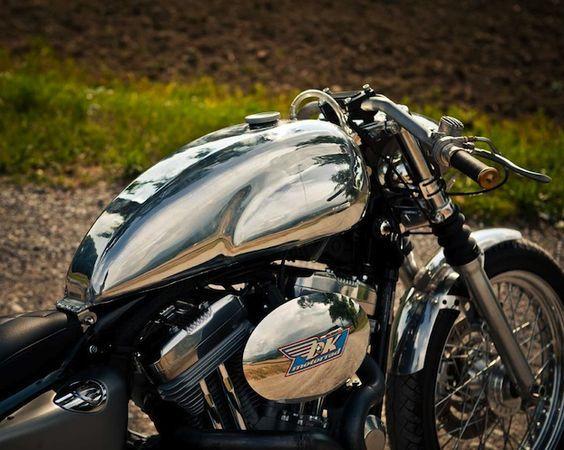 Dk Motorrad Sportster Cafe Racer Kit