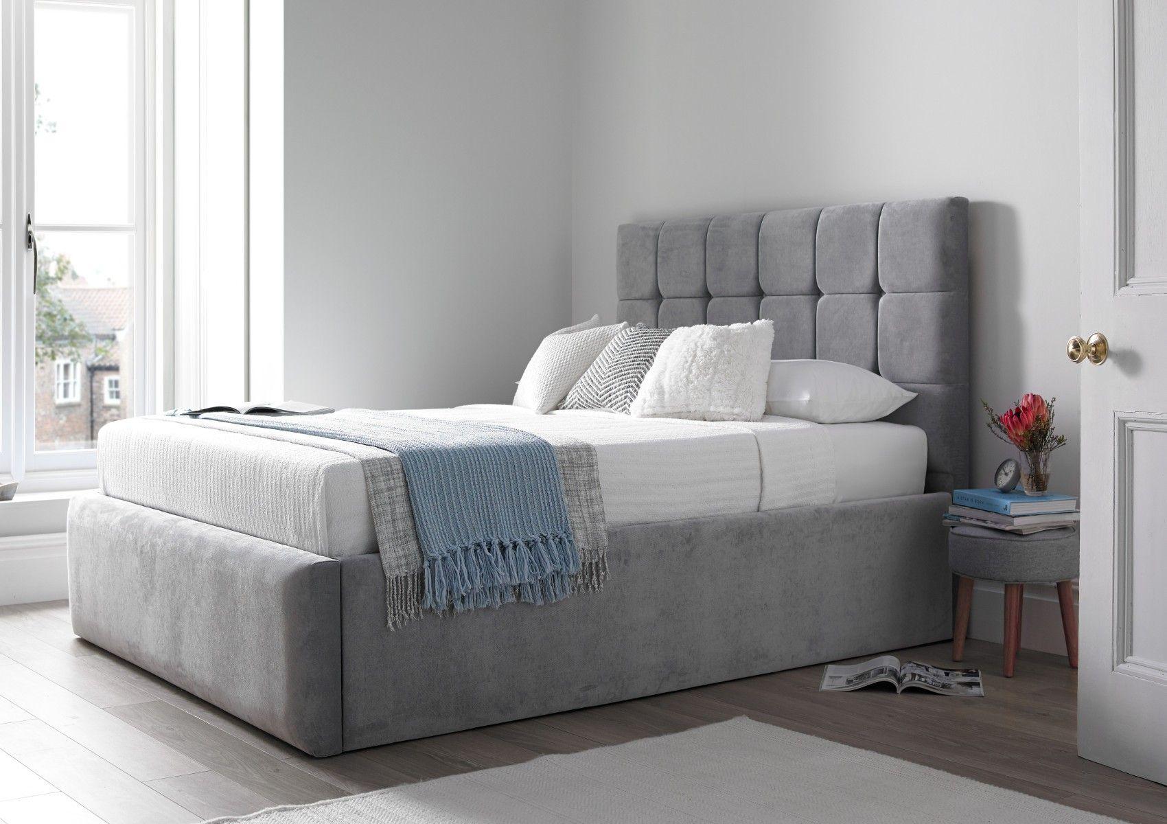 bromley upholstered ottoman bed frame storage beds beds