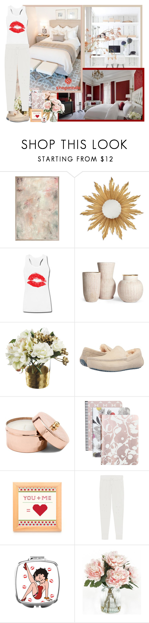 """Snapmade.com"" by asia-12 ❤ liked on Polyvore featuring Jonathan Charles Fine Furniture, UGG, Caroline Gardner, True Religion, Home Decorators Collection and snapmade"