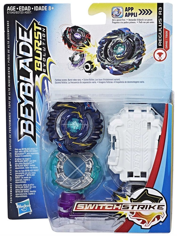 Beyblade Burst Evolution Switchstrike Regulus R3 Tower Hasbro New In