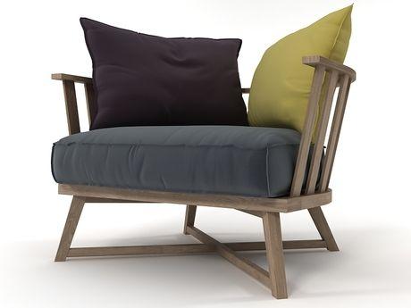 Gervasoni Gray 07 3d model | Paola Navone