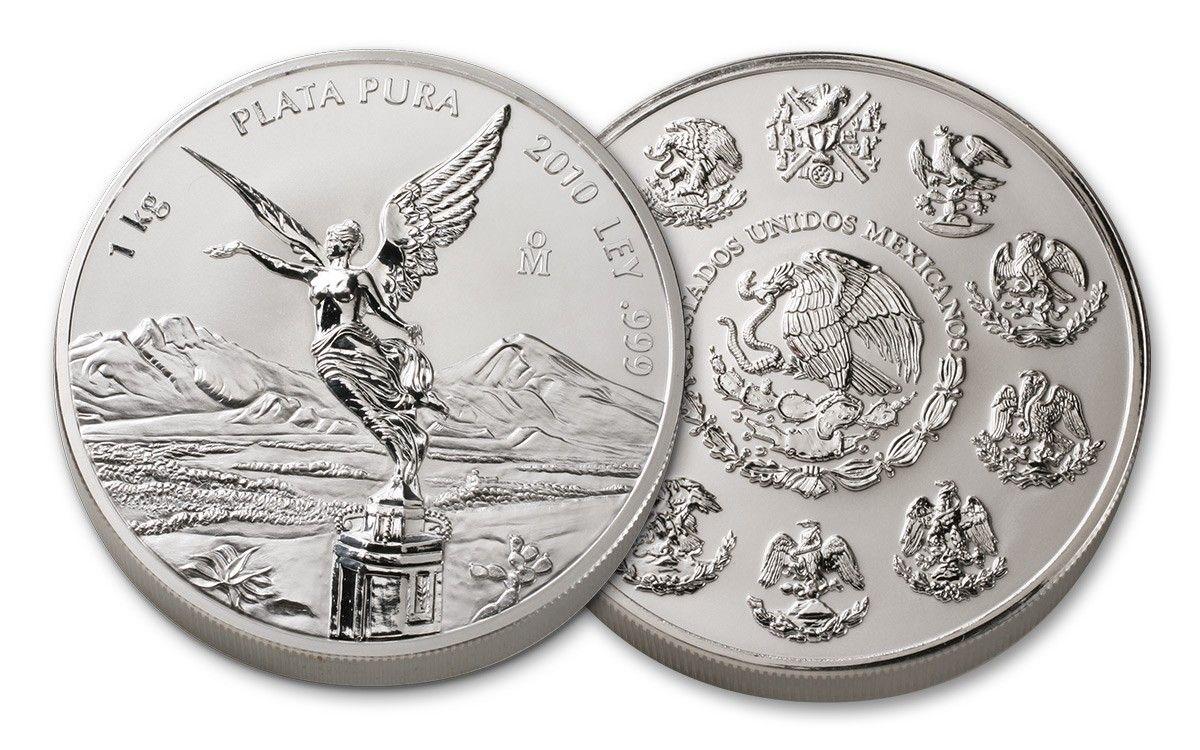 Libertad Coins /  2010 Mexico Kilo Silver Libertad Proof-Like