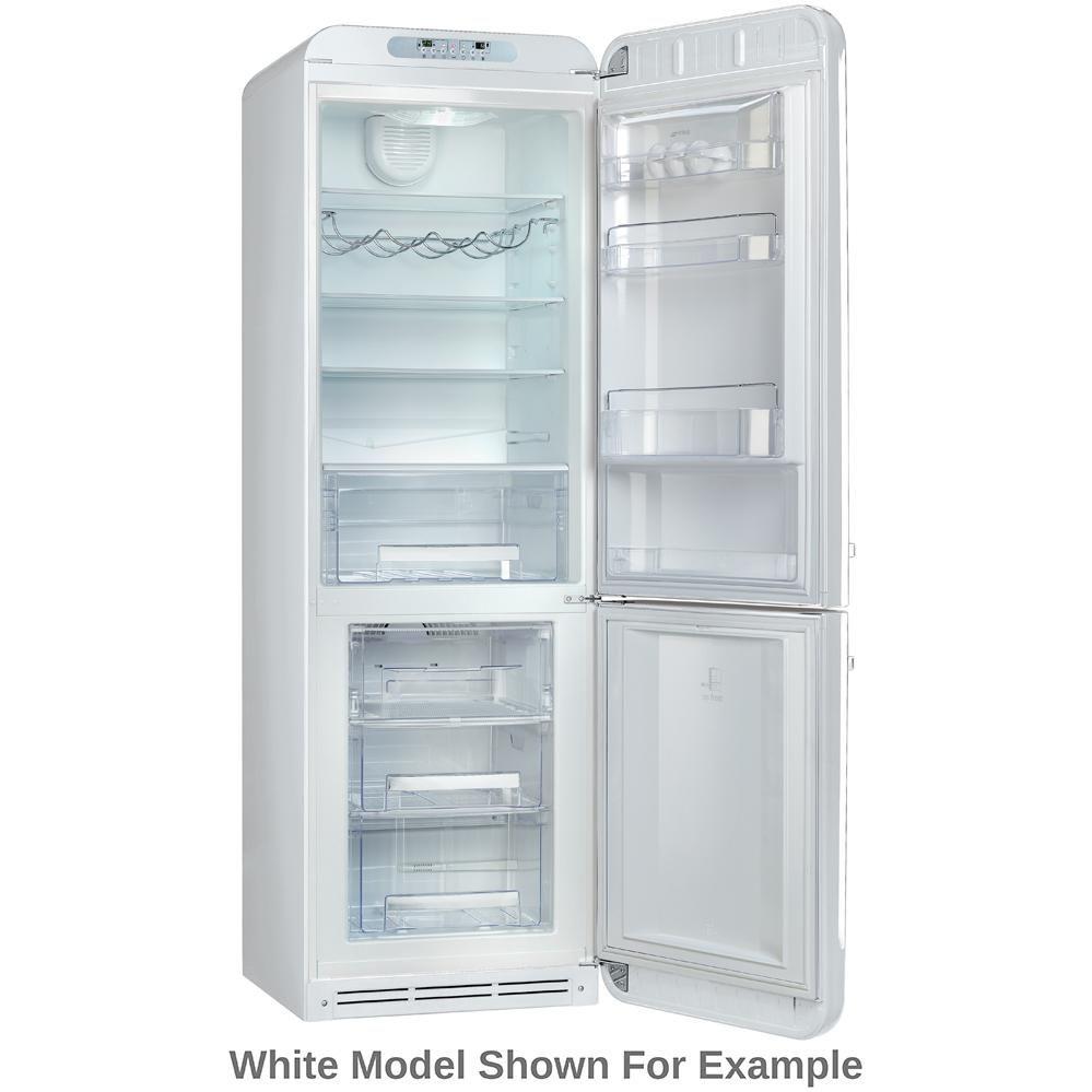 Smeg 50s Retro Style 11.7 Cu. Ft. Bottom Freezer Refrigerator ...