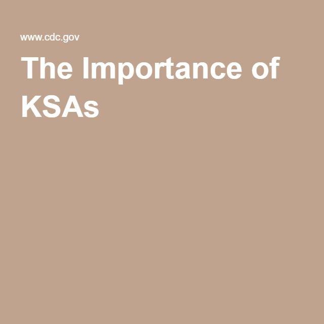 The Importance Of Ksas Resumes Pinterest