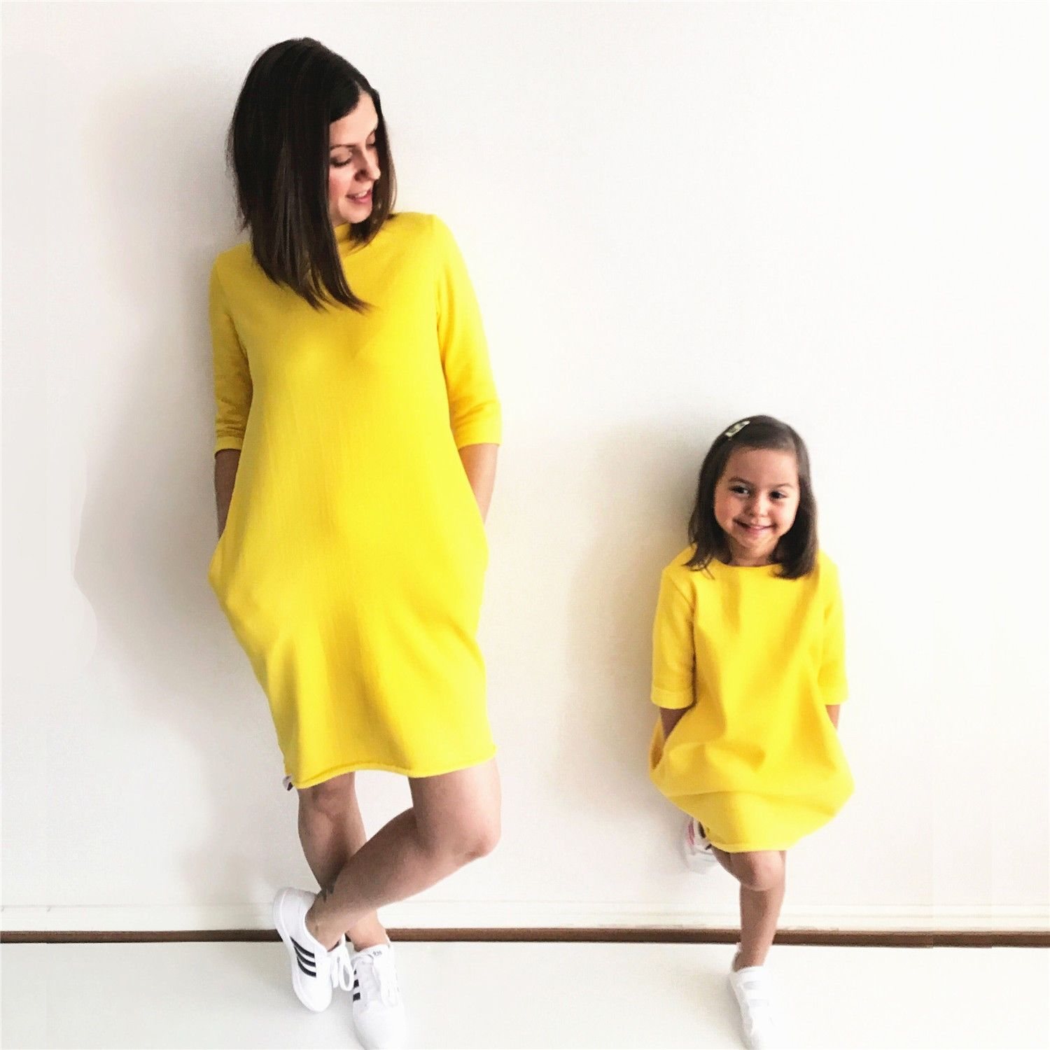 PUDCOCO New 2018 Fashion Mother Daughter Matching Dresses Summer Girl Dress  Clothes Outfit b5f3ffdd0db3
