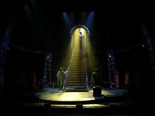 Selective Focus Provide Visibility Color Establish Location Lighting Design Theatre Stage Lighting Design Set Design Theatre