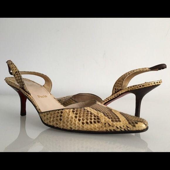 christian louboutin heels size 6