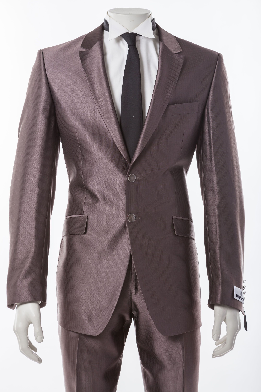 Hochzeitsanzug braun / grau Festlicher Hochzeitsanzug von ...
