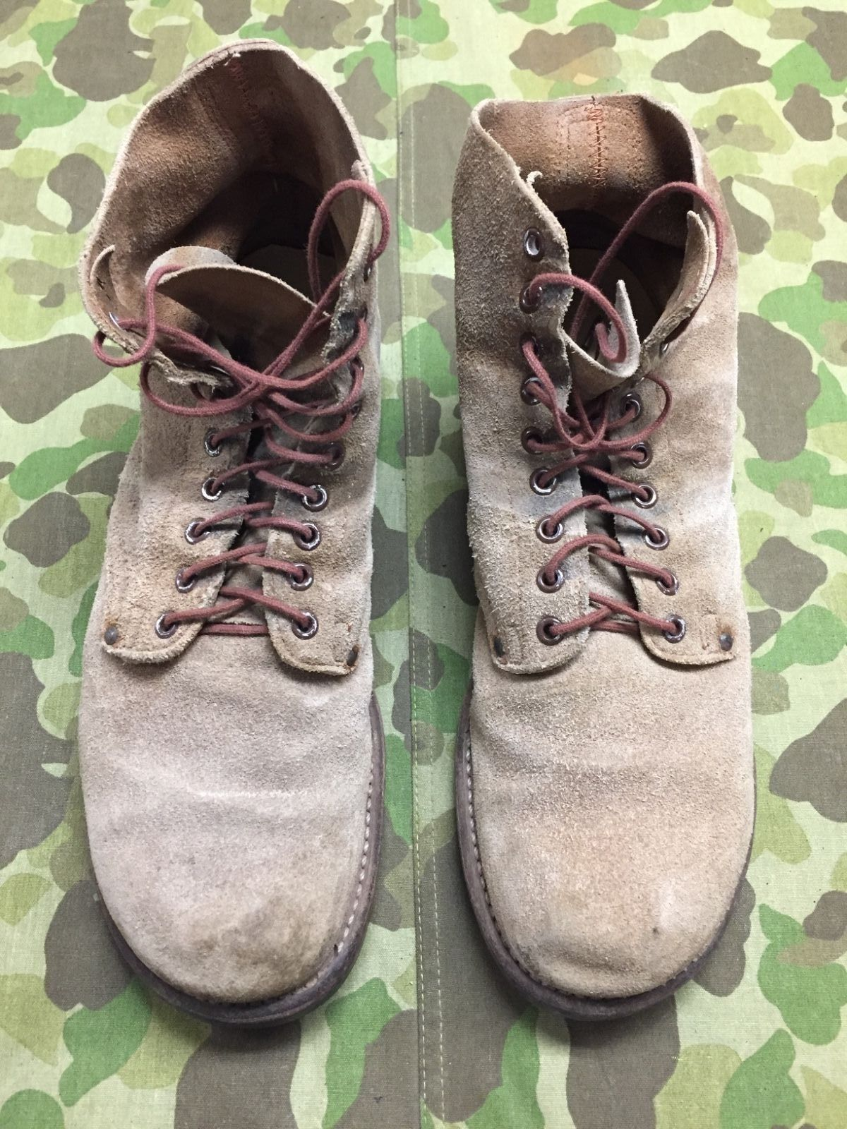 WW2 US ARMY rough out combat boots https://t.co/KGfuYCfPDK https://t.co/PSEZmfzqUP