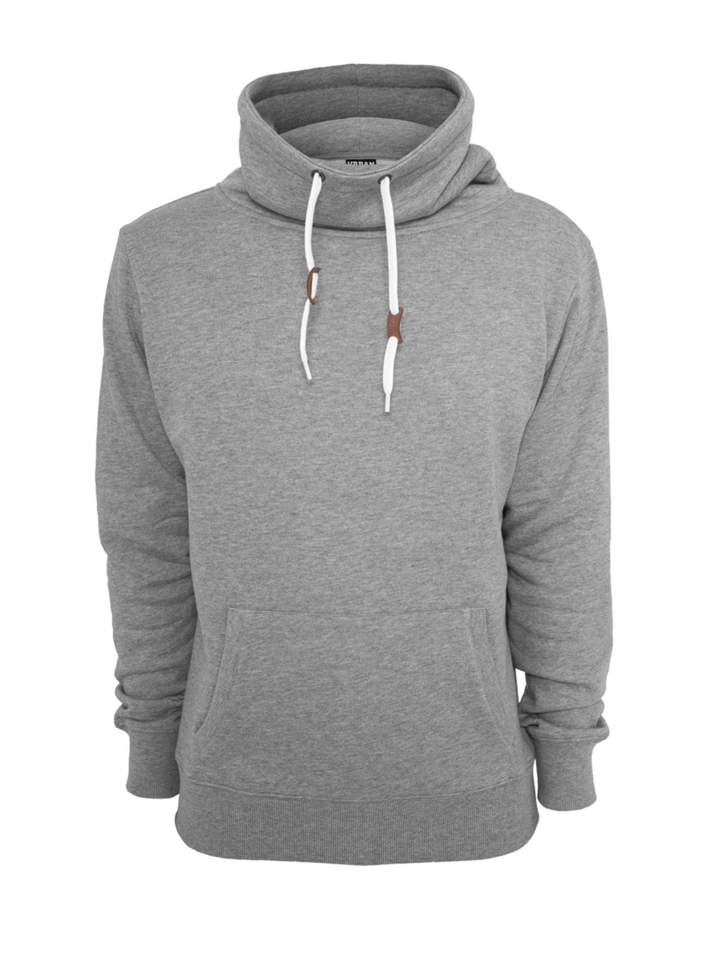 7ded81e9f Sweatshirt Urban Classics high Collar Hoodie High Neck ... | Animal ...
