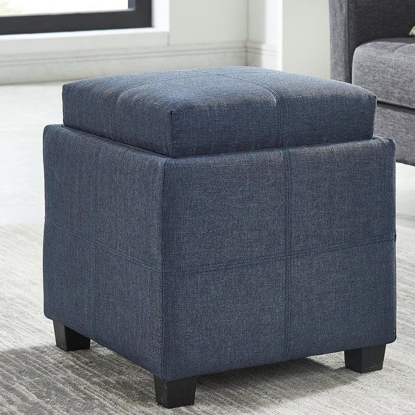 Groovy Pimentel Storage Ottoman In 2019 New Room Cube Storage Alphanode Cool Chair Designs And Ideas Alphanodeonline