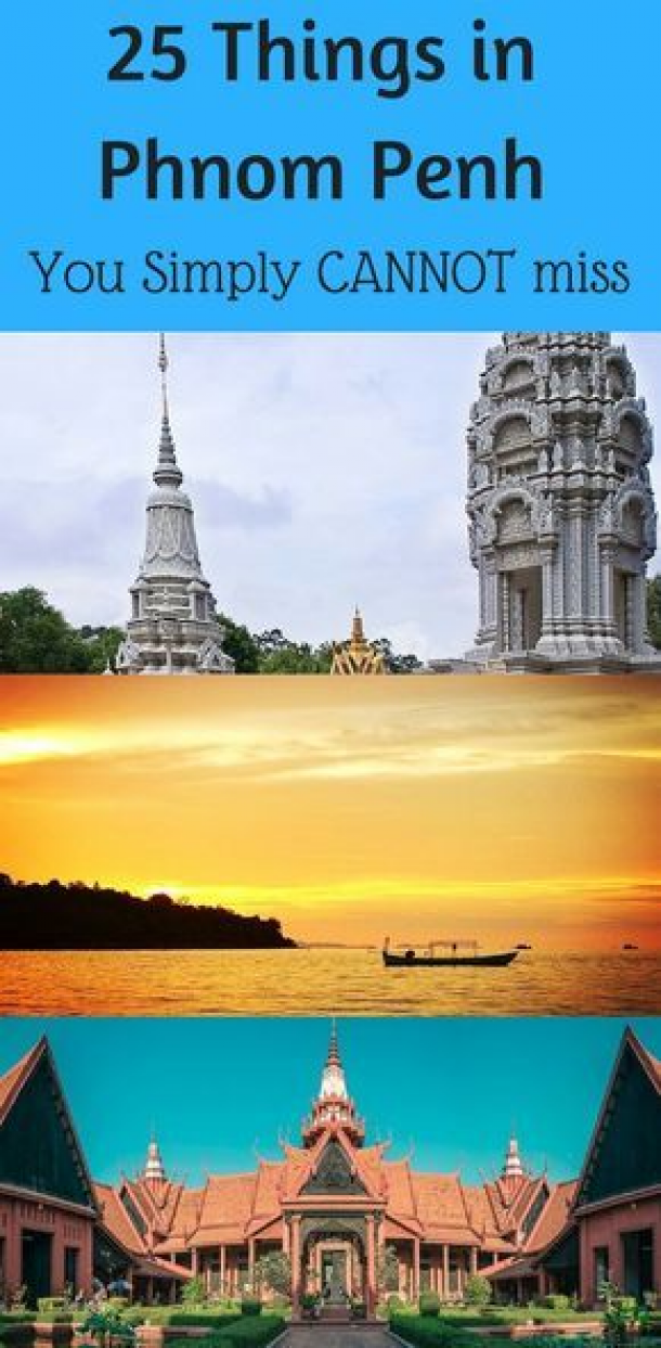 Here's a list of top 25 things to do in Phnom Penh Cambodia which you simply cannot miss. Your Phnom Penh travel itinerary is incomplete without these.  #phnompenh #phnompenhcambodia  Phnom penh itinerary l Phnom penh travel plan l Phnom penh things to do #usdestinations #us #destinations #travel