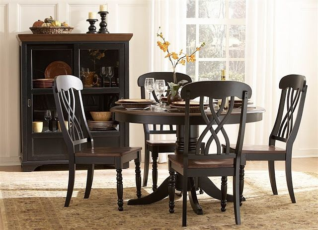 Modern Black Dining Table Set Black Dining Table And Chairs Entrancing Dining Room Table And Chairs Ebay Review