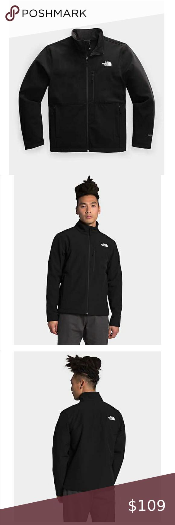 4x Hp Men S Xl North Face Apex Bionic Jacket Clothes Design Black North Face Jackets [ 1740 x 580 Pixel ]