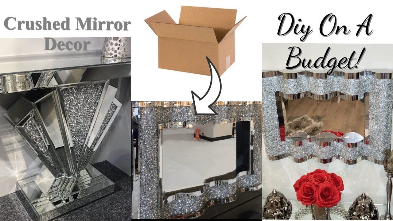 Tiny Mirror for Crafts Decoration and DIY Projects Traveling 3 Inch, Pack of 1 Framing
