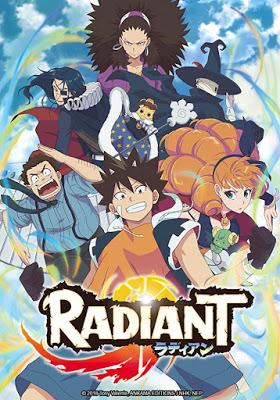 DVD & Bluray RADIANT Season 1 Part 2 (Standard and