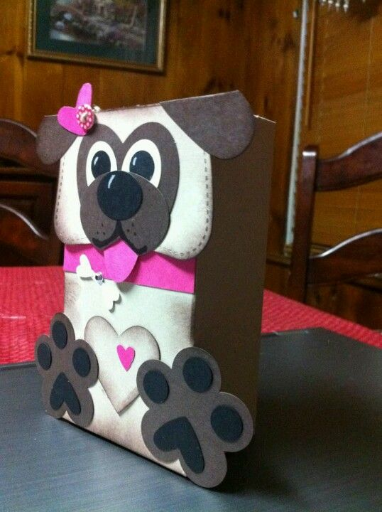 valentine box we have to make at home for her preschool party ideas for - Cat Valentine Box