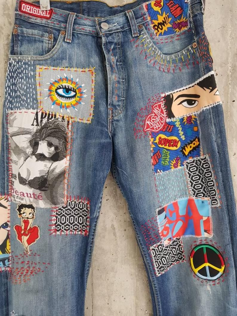 High waisted mom jeans all sizesvintage 80s l medium