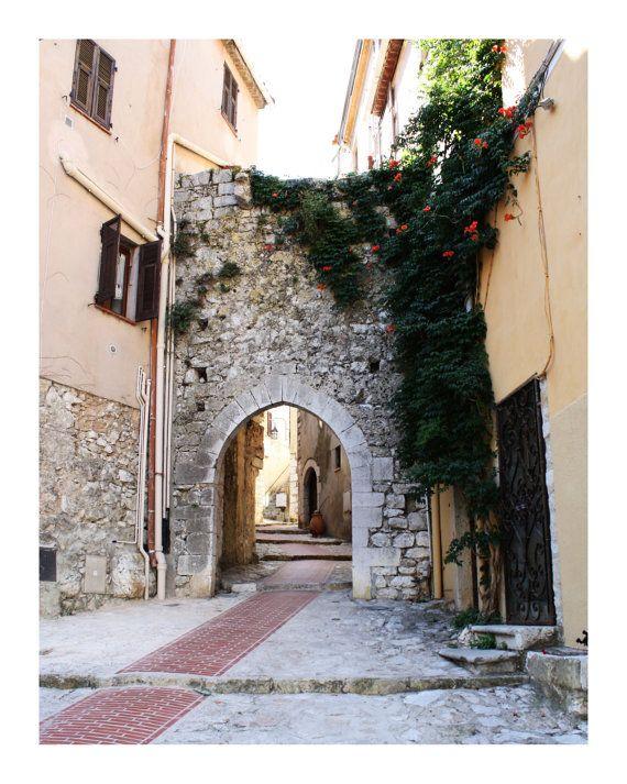 La Turbie France 6 8 x 10 Photo Print by bbrummel on Etsy, $30.00