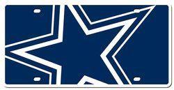 Dallas Cowboys License Plate - Acrylic Mega Style