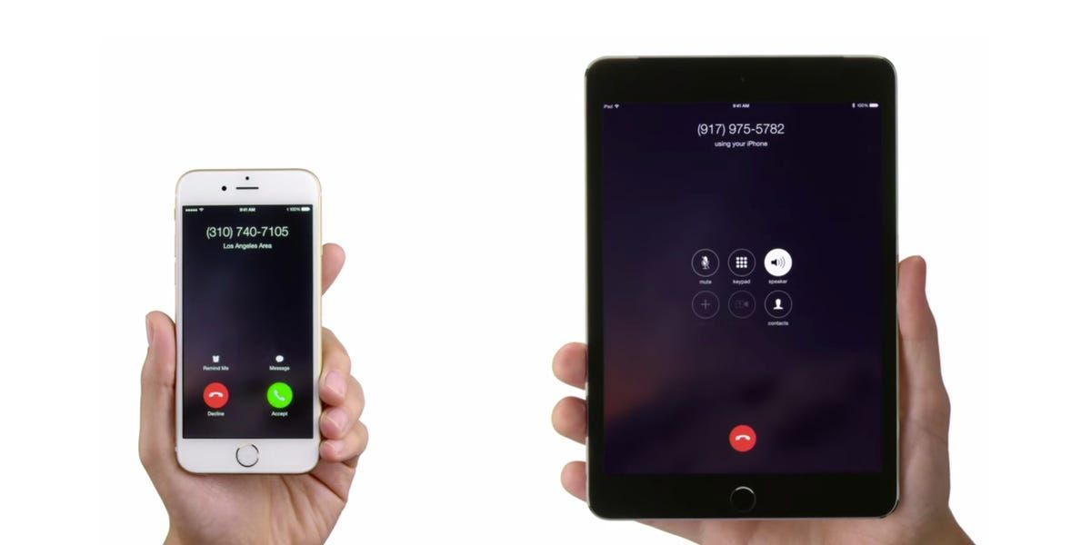How to make and receive calls on an iPad using Apple's