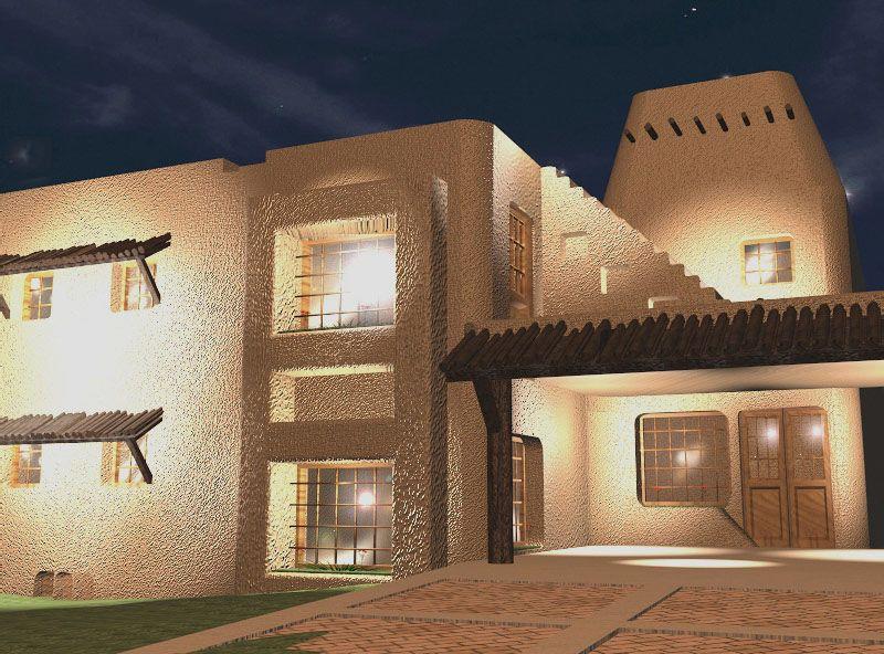 Modern Mud House Architecture Zion Star
