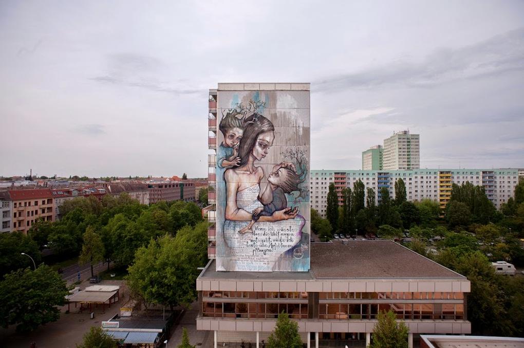 Herakut (2015) - Greifswalder Strasse, Berlin (Germany)