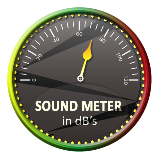 Sound Meter or Sound Detector App use microphone to measure